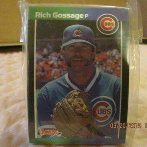 Donruss 89 Richard Gossage Cubs Floyd Franklin